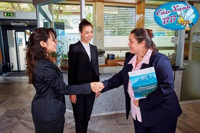 Chương trình đào tạo du lịch khách sạn của trường IMI được chính phủ Thuỵ Sỹ công nhận