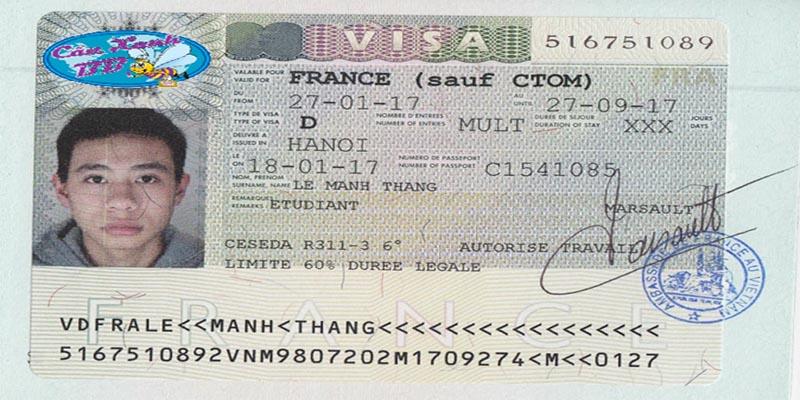 Mạnh Thắng - Visa du học Pháp