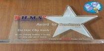 Tư vấn du học Cầu Xanh đạt giải Thành tích xuất sắc do BHMS trao tặng