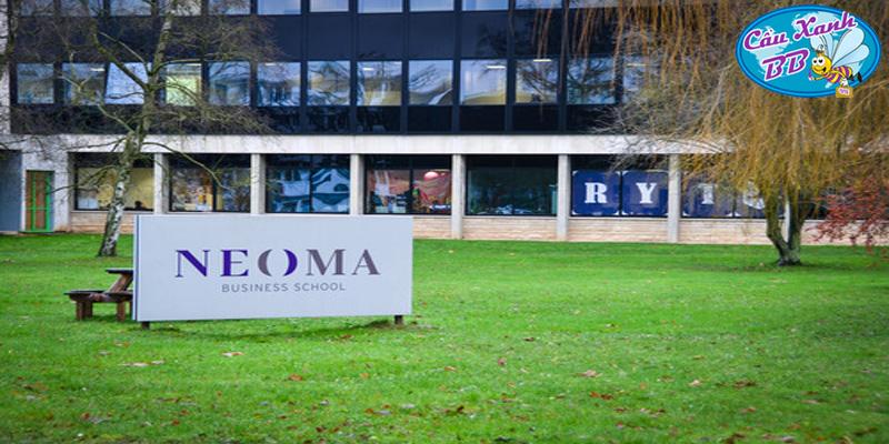 Học bổng Du học Pháp tại trường lớn NEOMA BS, hay Rouen business school và Reims business school