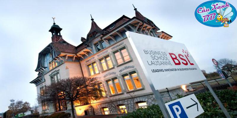 Business School Lausanne xếp thứ hạng cao tại Thụy Sỹ, xứng đáng là lựa chọn hàng đầu cho du học Thuỵ Sỹ ngành kinh doanh