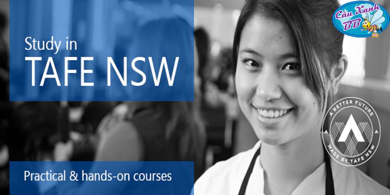 Du học Úc: Trường TAFE New South Wales (TAFE NSW)