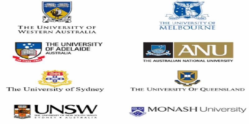 Nhóm các trường thuộc nhóm Go8 bao gồm những trường nào?