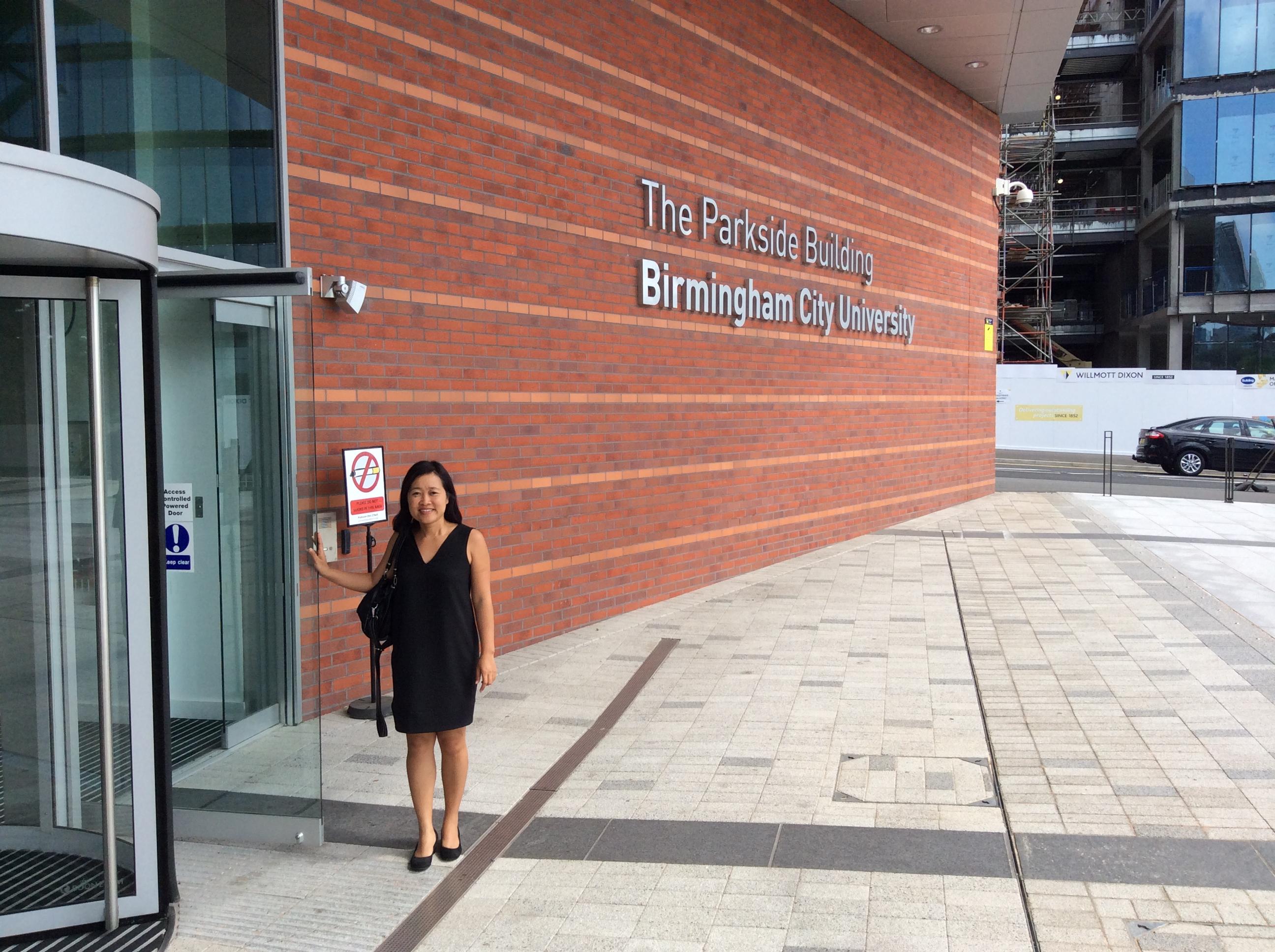 Đại học Birmingham City University dành cho các bạn muốn du học Anh tại môi trường dễ hoà nhập