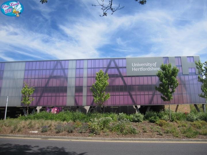 Học bổng du học Anh, đại học Hertfordshire