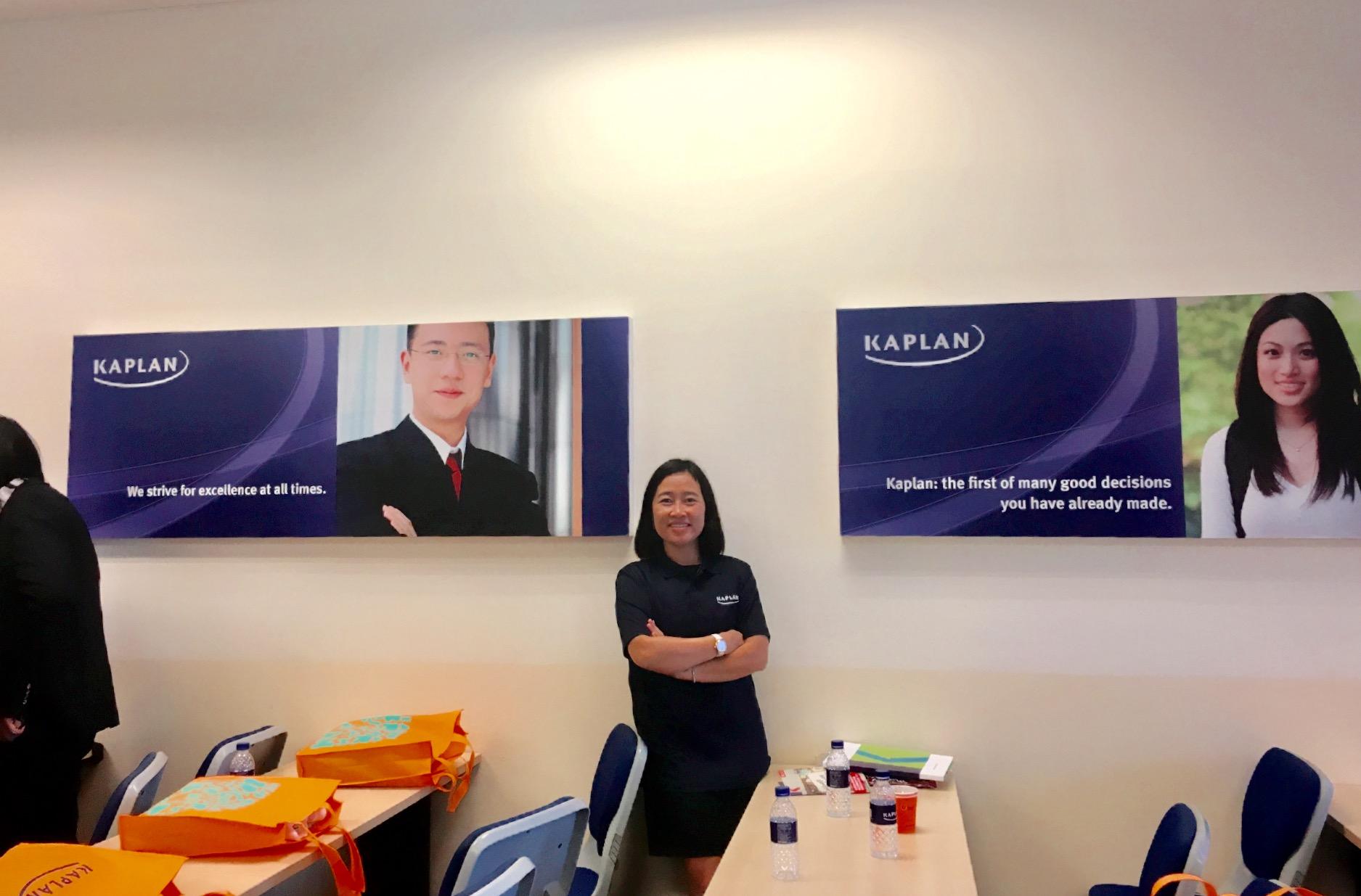 Du học Singapore tại tập đoàn giáo dục quốc tế Kaplan Singapore