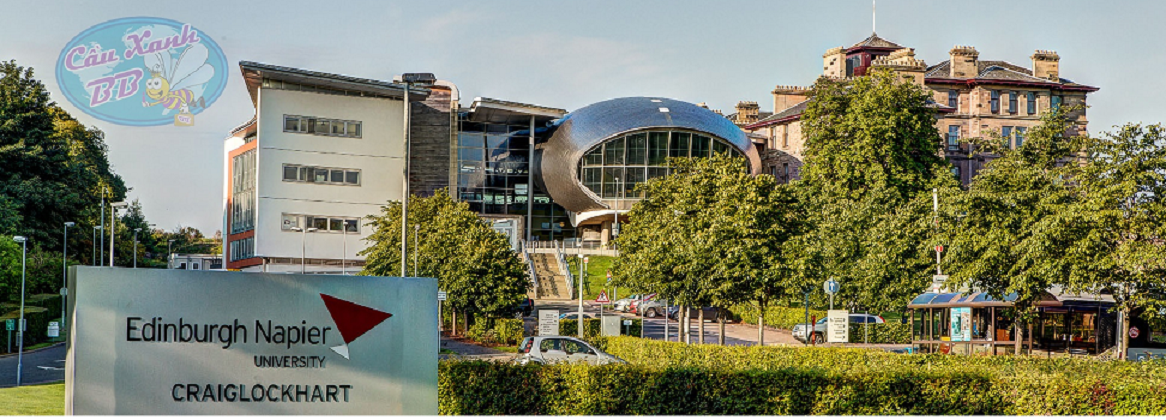 Học bổng Du học Anh tại đại học Edinburgh Napier, Scotland, Vương quốc Anh