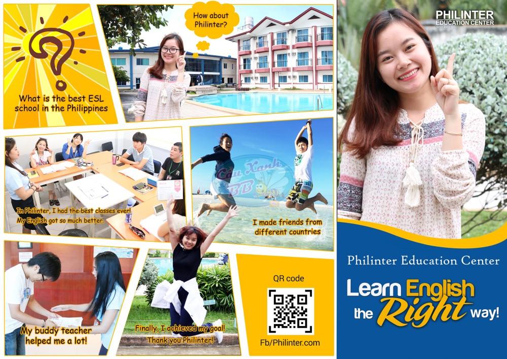 Philinter Education Center – địa chỉ học tiếng Anh, luyện IELTS tin cậy tại Cebu, Philippines