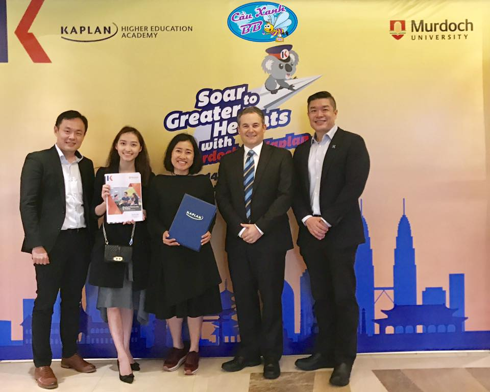 Học bổng du học Kaplan Singapore