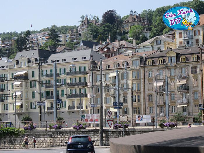 Thành phố Neuchâtel, cục bơ nhỏ xinh đẹp