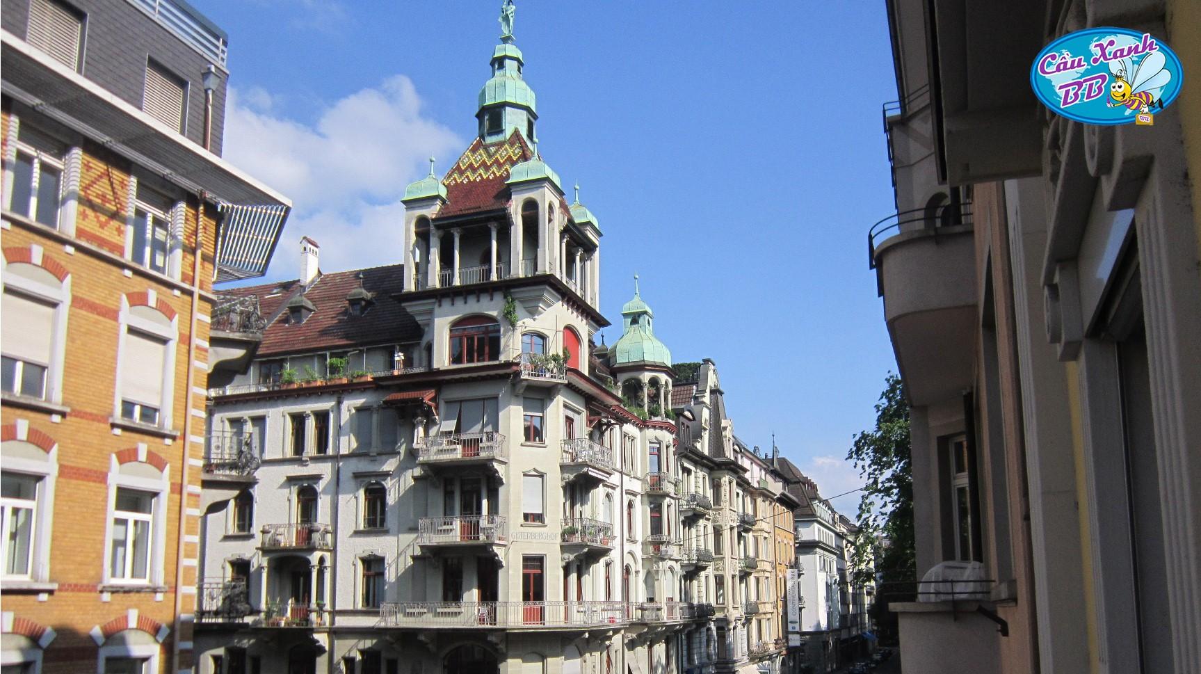 Du lịch Thuỵ Sỹ, du học Thuỵ Sỹ dứt khoát phải đi chơi hồ Luzern