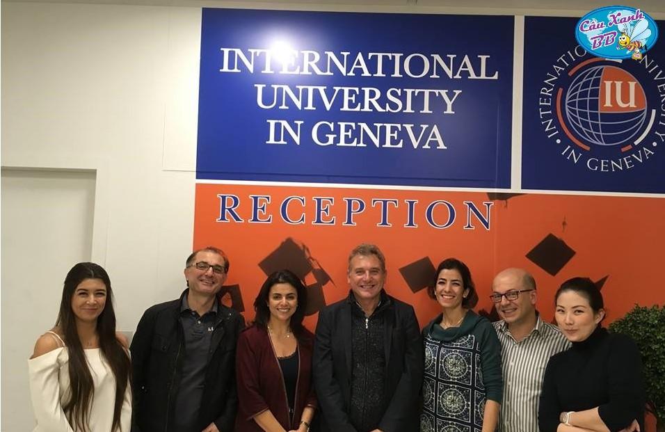 Học kinh doanh tại thành phố quốc tế Geneva, đại học Quốc tế Geneva IUG