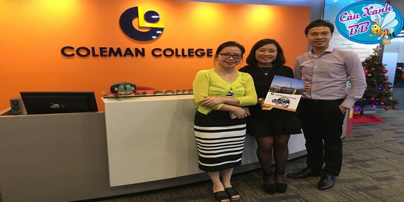 Coleman college, 30 năm lịch sử đào tạo phổ thông, luyện thi trường công lập và nhiều chuyên ngành