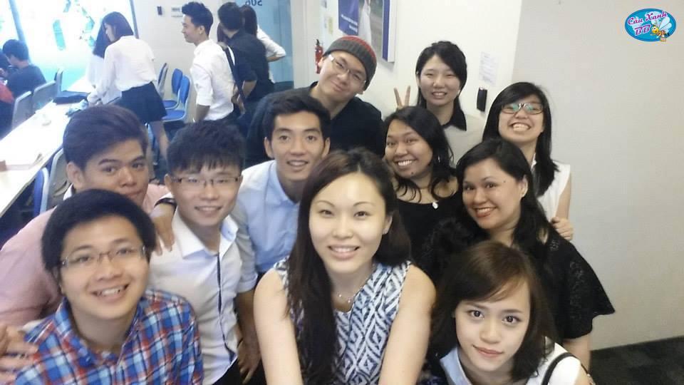 Những kỷ niệm đáng yêu của tôi ở Kaplan Singapore