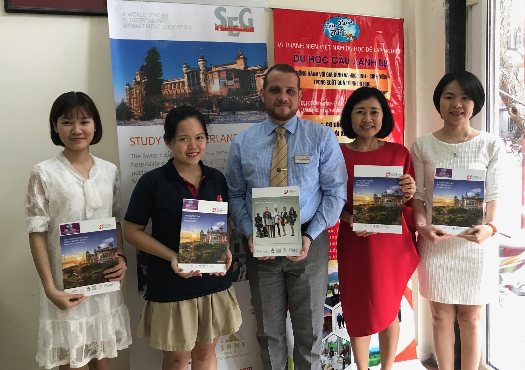 Du học Thuỵ Sỹ ngành Du lịch khách sạn