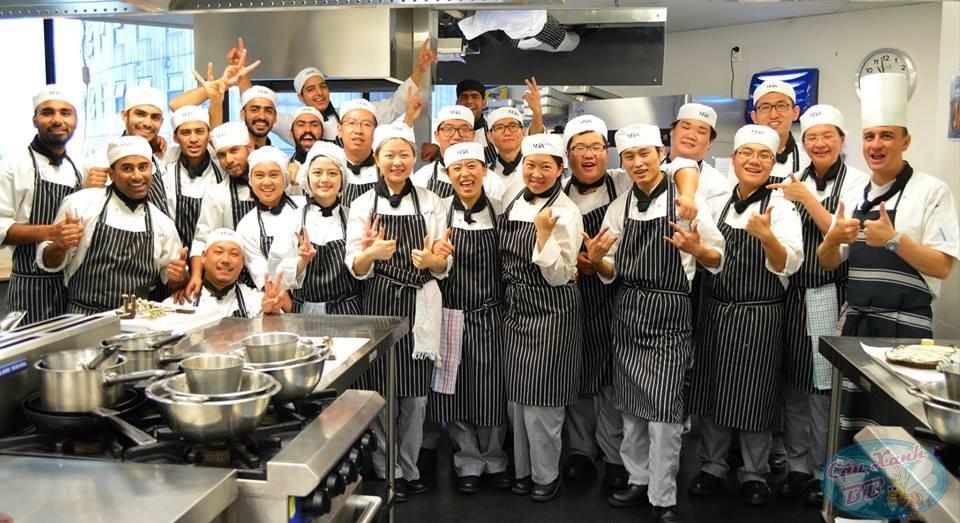 Con đường để trở thành một Bếp trưởng