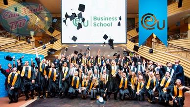 Tặng khóa học tiếng Đức cho sinh viên EU Business school