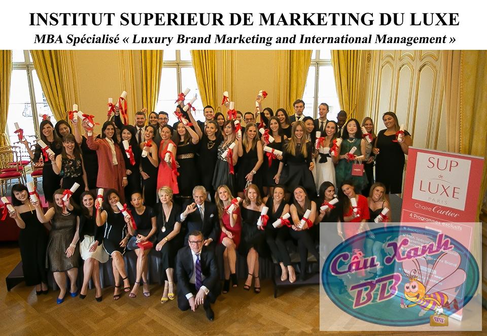 Du học Pháp, quản lí kinh doanh hàng xa xỉ tại Sup de Luxe