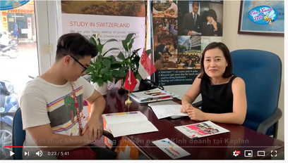 Gặp lại sinh viên trường Kaplan Singapore