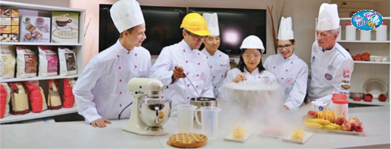 Trại hè ẩm thực Thuỵ Sĩ 2020 tại trường HTMi