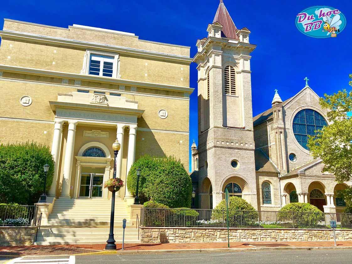 Học bổng khủng cho du học phổ thông tại Mỹ từ trường Red Bank Catholic School